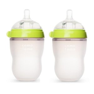 Review of Comotomo Baby Bottle