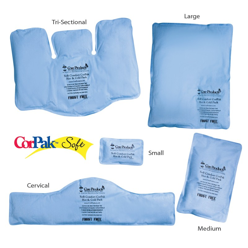 Review of CorPak Soft Comfort Frost-Free Hot/Cold Packs