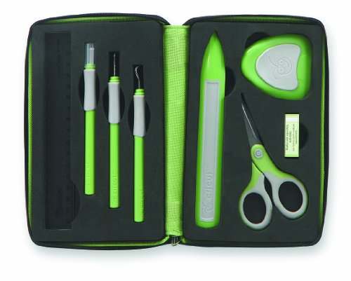 Cricut 7-Piece Tool Kit for Cricut Cutting Machines - Reviews of Top 10 Sewing and Embroidery Machines and Supplies - Be Your Own Designer