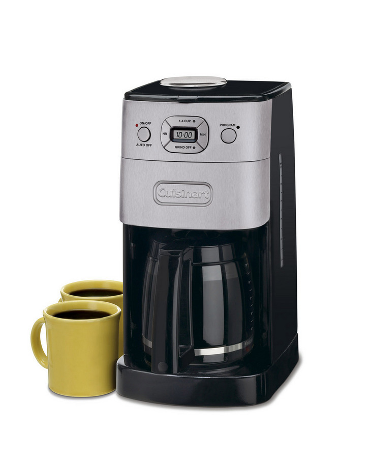 Cuisinart DGB-625BC Grind-and-Brew 12-Cup Automatic Coffeemaker, Brushed Metal - Reviews of Top 10 Coffee & Espresso Makers - Enjoy Every Sip of Your Coffee!