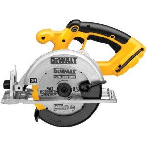 DEWALT Bare-Tool DC390B 6-1/2-Inch 18-Volt Cordless Circular Saw - Reviews of Top 10 Power and Hand Tools - Do-It-YourSelf!