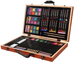 Darice 80-Piece Deluxe Art Set - Reviews of 10 Most Popular Luggage Sets and Bags - Travel in Style
