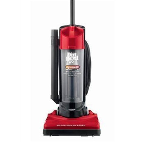Review of Dirt Devil Dynamite Bagless Upright with On-Board Tools - M084650RED