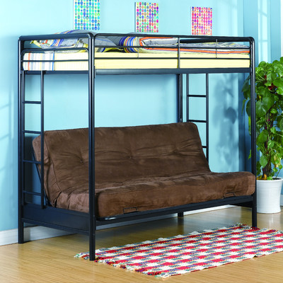 Dorel Twin-Over-Futon Bunk Bed, Multiple Colors - Reviews of Top 10 Kids' Bedroom Furniture and Decor Items