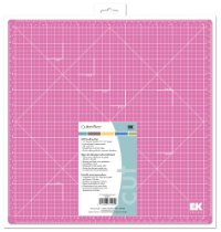 Review of EK Success 13-by-13-Inch Cutter Bee Self-Healing Pink Mat, Old Package