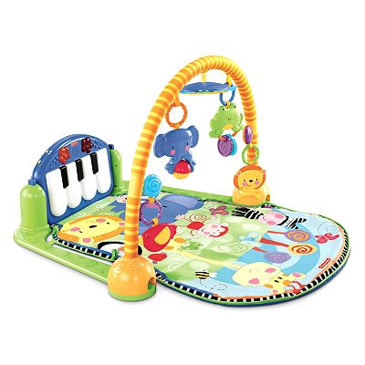 Fisher-Price Discover 'n Grow Kick and Play Piano Gym - Reviews of Top 10+  Items for Baby Nursery - Happy Baby, Happy Parents!