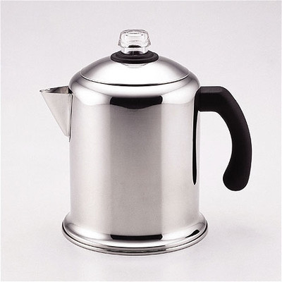 Farberware Classic Stainless Steel Yosemite 8-Cup Coffee Percolator - Reviews of Top 10 Coffee & Espresso Makers - Enjoy Every Sip of Your Coffee!