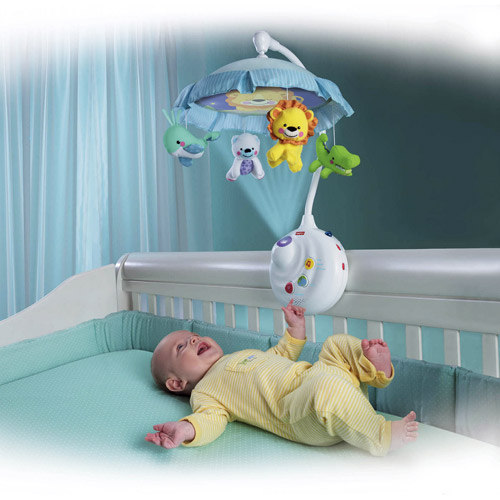 Review of Fisher-Price Precious Planet 2-in-1 Projection Mob ...