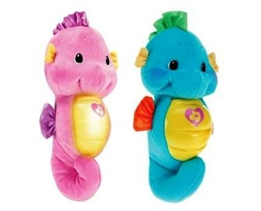 Review of Fisher-Price Ocean Wonders Soothe and Glow Seahors ...