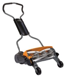 Review of Fiskars 6201 18-Inch Staysharp Push Reel Lawn Mowe ...