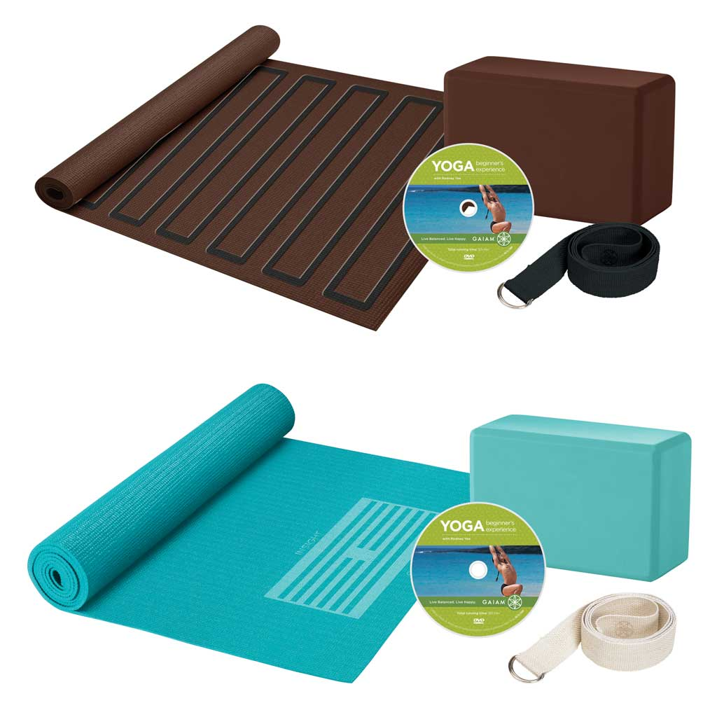 Review of Gaiam Beginner's Yoga Starter Kit
