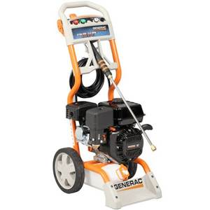 Review of - Generac 5989/6022, 2,700 PSI Gas Powered Consumer Pressure Washer