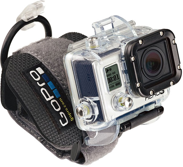 GoPro - HERO3 Wrist Housing (Model: AHDWH-301) - Reviews of Top 15 Mother's Day Gift Ideas for Active and Outdoorsy Moms