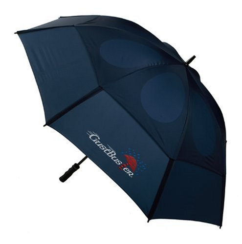 GustBuster Classic 48-Inch Automatic Golf Umbrella - Reviews of Top 10 Golf Items - Play Your Best Game!