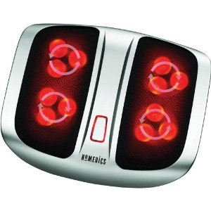 review of homedics fms200h shiatsu elite foot massager - Jeanie Rub Massager