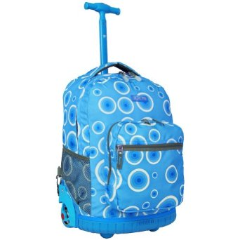 J World Sunrise Rolling Backpack - Reviews of Top 10 Back to School Supplies - Get Ready for New School Year