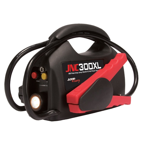 Review of Jump-N-Carry JNC300XL 900 Peak Amp Ultraportable 12-Volt Jump Starter with Light