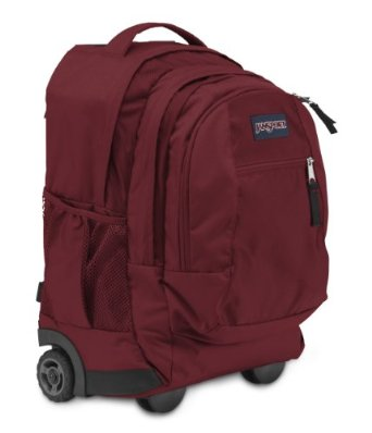 Review of JanSport Driver 8 Core Series Wheeled Backpack
