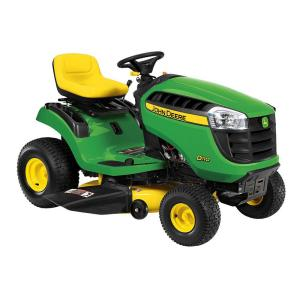 Review of John Deere D110 42 in. 19 HP Hydrostatic Gas Front-Engine Riding Mower (Model: BG20708)