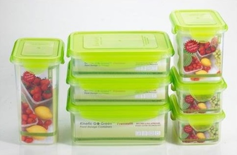 Review of Kinetic Go Green Premium Nano Silver 14 Piece Food Storage Container Set