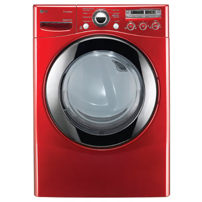 LG Electronics 3.6 DOE cu. ft. High-Efficiency Front Load Steam Washer in White and Wild Cherry Red   (Models-WM2650HWA and WM2650HRA)