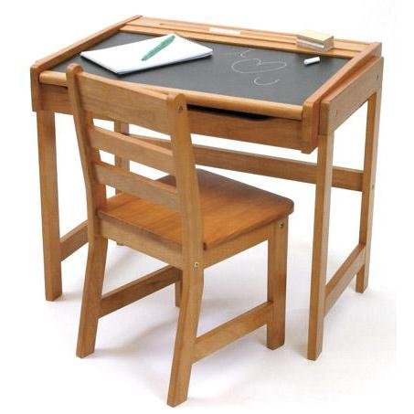Review of Lipper International Child's Chalkboard Desk and C ...