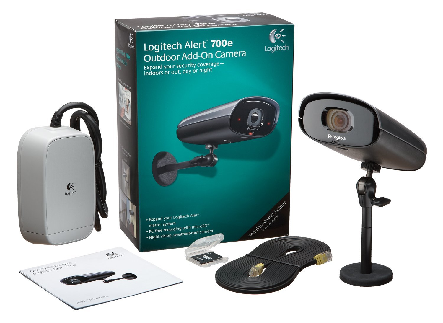 Review of Logitech Alert 700e Outdoor Add-On HD Quality Secu ...