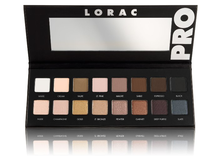 LORAC PRO Palette - Reviews of Top 10 Cosmetics and MakeUp Gifts for Mother's Day
