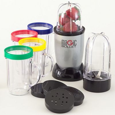 Magic Bullet MBR-1701 17-Piece Express Mixing Set - Reviews of Top 10 Kitchen Appliances for Moms who love cooking