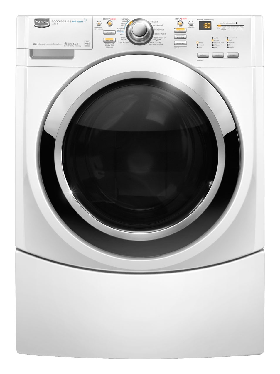 Review of Maytag Performance 3.9 cu ft High-Efficiency Front-Load Washers (White) ENERGY STAR (Model #: MHWE950WW)
