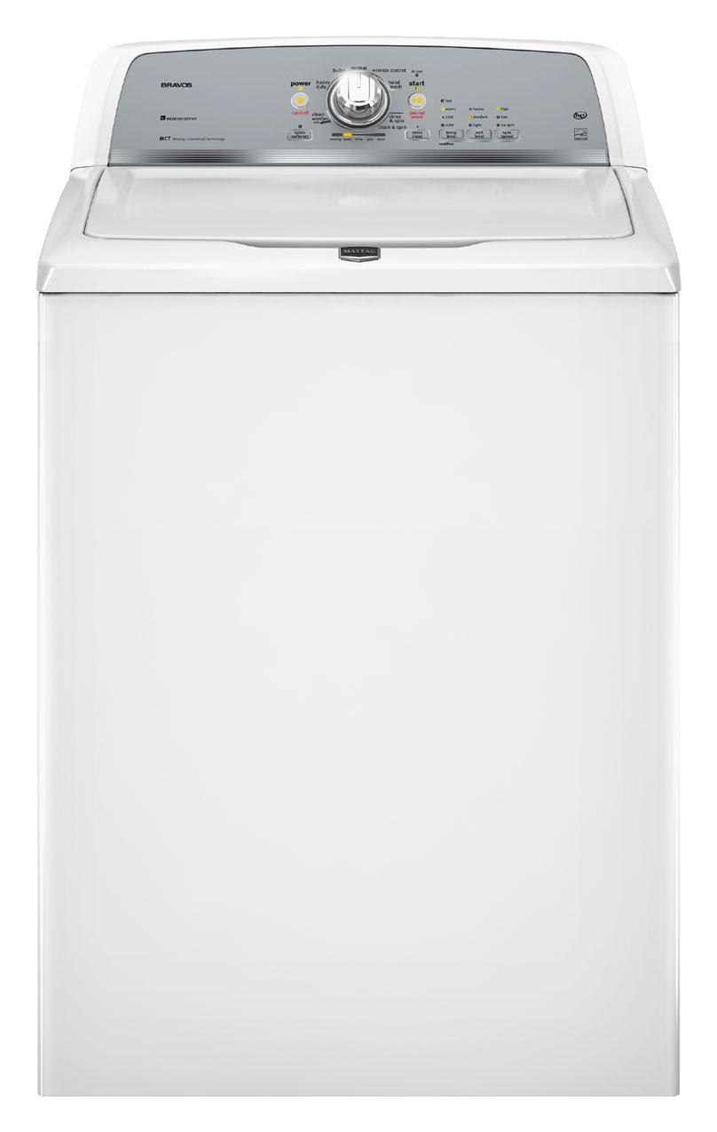 Maytag Bravos 3.6 cu ft High-Efficiency Top-Load Washer (White) ENERGY STAR (Model: MVWX500XW)