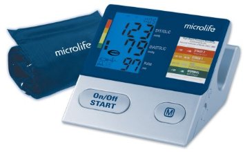 Review of Microlife 3MC1-PC Ultimate Automatic Blood Pressure Monitor with Irregular Heartbeat Detection