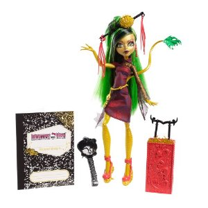Review of Monster High Travel Scaris Jinafire Long Doll