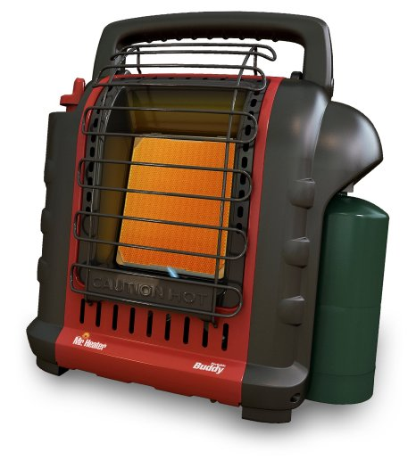 Review of Mr. Heater F232000 MH9BX Buddy 4,000-9,000-BTU Indoor-Safe Portable Radiant Heater