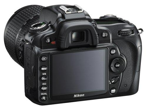 Nikon D90 Black 12.3MP Digital SLR Camera Kit with 18-105mm Lens