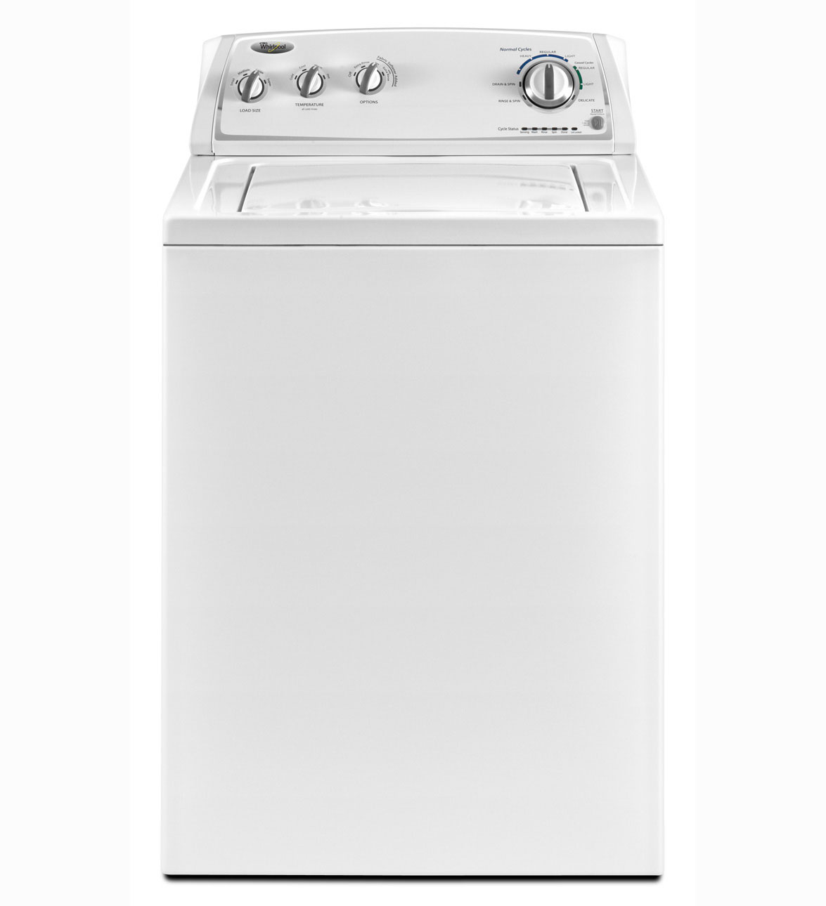 Whirlpool 3.4 cu ft Top-Load Washer (White) (Model: WTW4800XQ)
