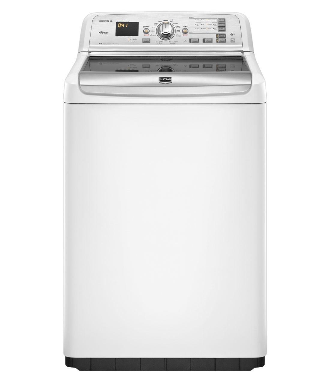 Maytag Bravos XL 4.6 cu. ft. High-Efficiency Top Load Washer in White (Model: MVWB850YW)