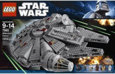 Review of LEGO Star Wars Millennium Falcon 7965
