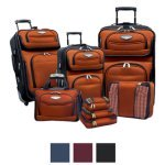 Review of Travel Select by Traveler's Choice Amsterdam II 8-piece Deluxe Packing Luggage Set