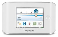 Review of ecobee EB-STAT-02 Smart Thermostat 4 Heat-2 Cool with Full Color Touch Screen