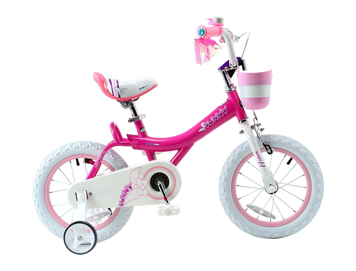 Review of RoyalBaby Jenny & Bunny Girl's Bike with basket