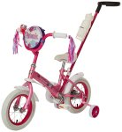 Review of Schwinn Girls' Petunia 12-inch Steerable Bike,Pink/White