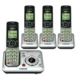 Review of VTech CS6429-4 DECT 6.0 Cordless Phone, Silver/Black