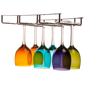 Review of Oenophilia Under Cabinet Stemware Rack