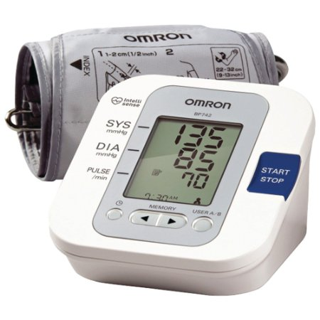 Review of Omron 5 Series Upper Arm Blood Pressure Monitor BP ...