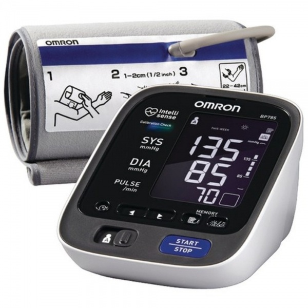 Review of Omron BP785 10 Series Upper Arm Blood Pressure Mon ...
