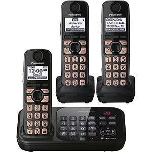 Review of Panasonic KX-TG4743B DECT 6.0 Cordless Phone with  ...