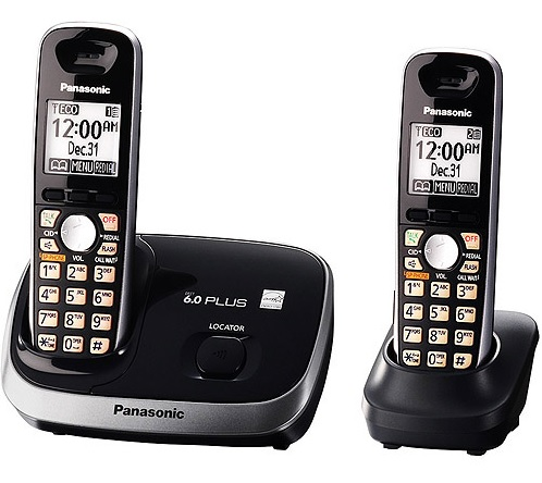 Review of Panasonic KX-TG6512B DECT 6.0 PLUS Expandable Digi ...
