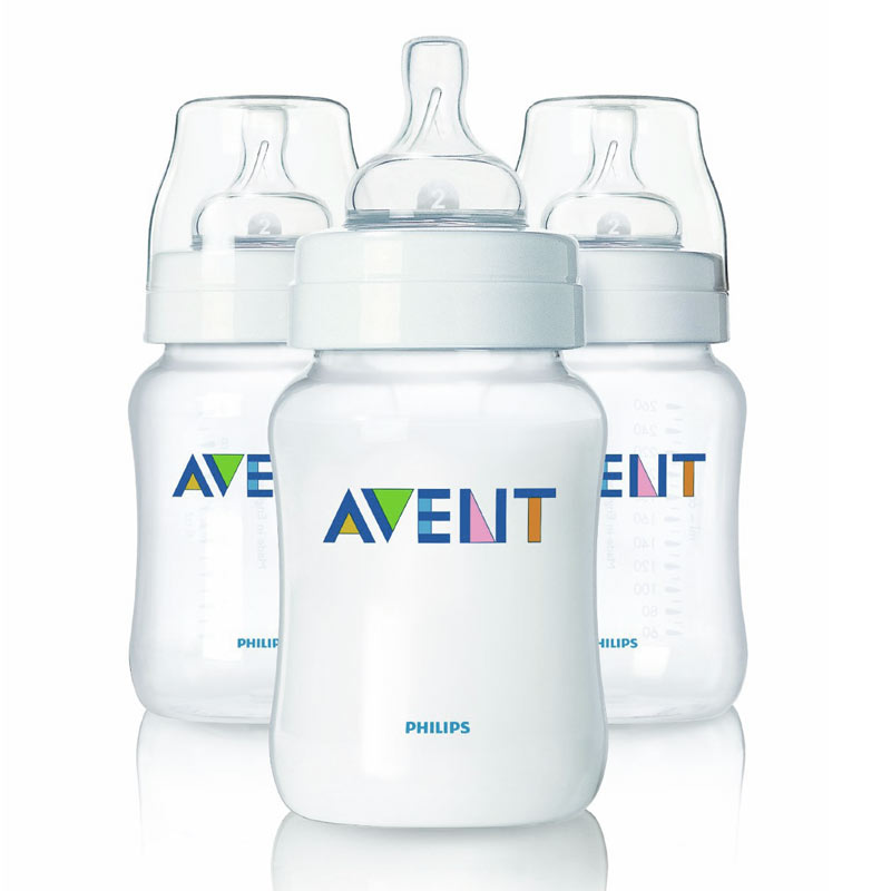 Philips AVENT BPA Free Classic Polypropylene Bottle