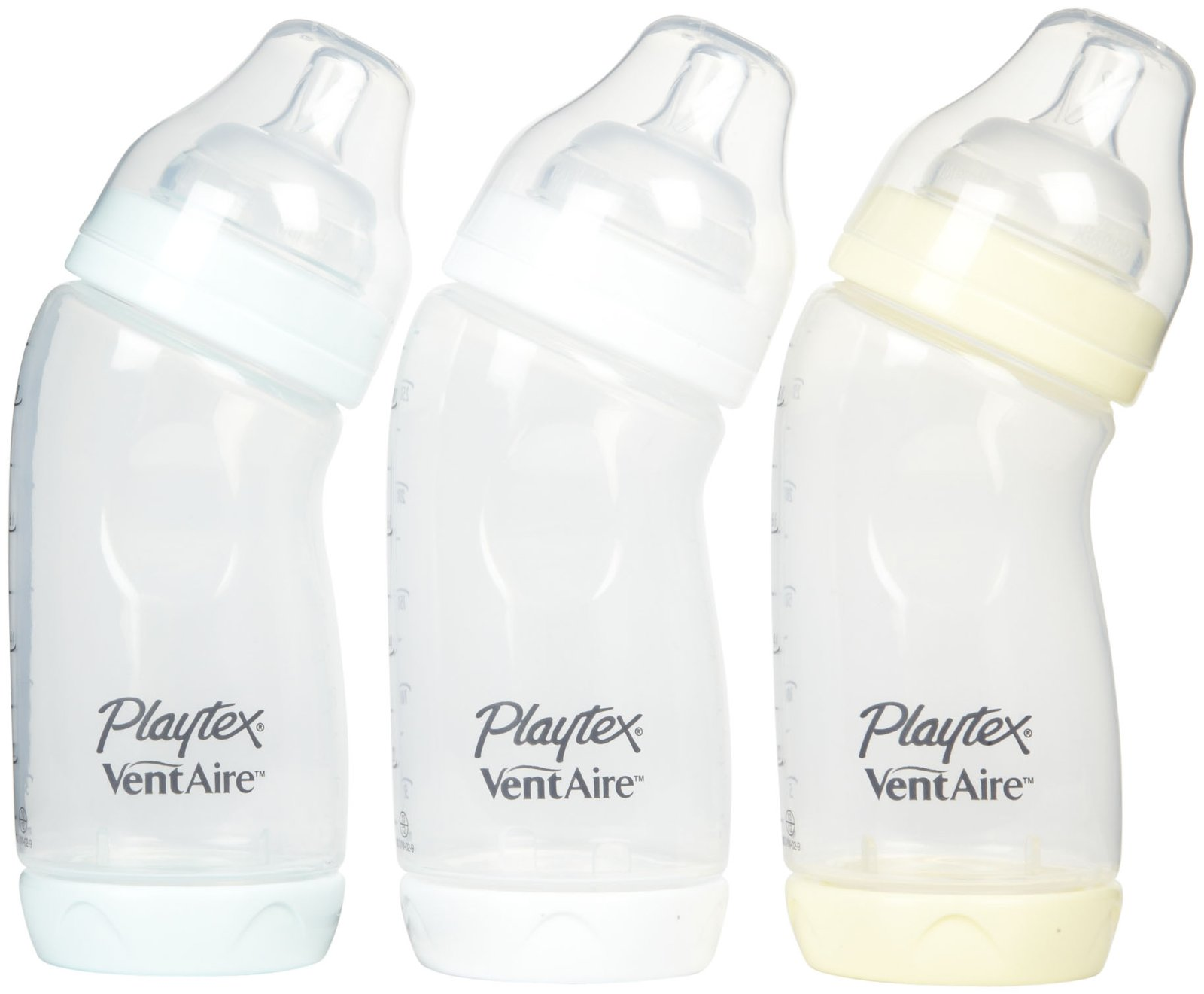 Playtex VentAire Advanced Wide Baby Bottles - Reviews of Top 10 Baby Bottles and Accessories - For Good Feeding Times
